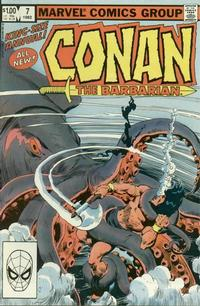 Cover Thumbnail for Conan Annual (Marvel, 1973 series) #7 [Direct Edition]