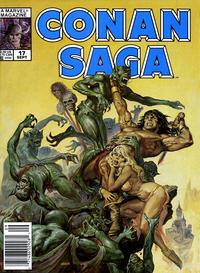 Cover Thumbnail for Conan Saga (Marvel, 1987 series) #17