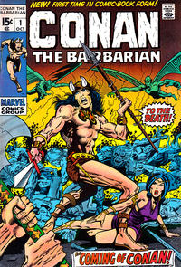 Cover Thumbnail for Conan the Barbarian (Marvel, 1970 series) #1
