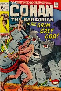 Cover Thumbnail for Conan the Barbarian (Marvel, 1970 series) #3