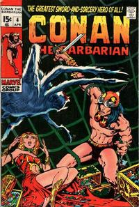 Cover Thumbnail for Conan the Barbarian (Marvel, 1970 series) #4
