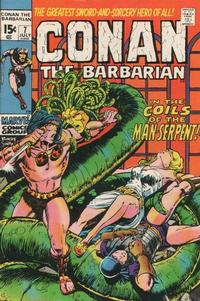 Cover Thumbnail for Conan the Barbarian (Marvel, 1970 series) #7