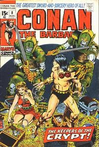 Cover Thumbnail for Conan the Barbarian (Marvel, 1970 series) #8