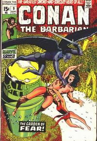 Cover Thumbnail for Conan the Barbarian (Marvel, 1970 series) #9