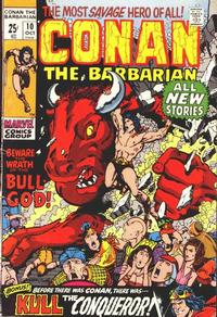 Cover Thumbnail for Conan the Barbarian (Marvel, 1970 series) #10