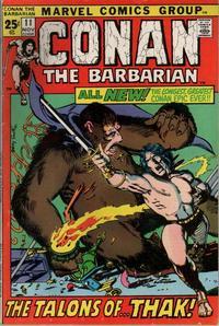 Cover Thumbnail for Conan the Barbarian (Marvel, 1970 series) #11 [Regular Edition]