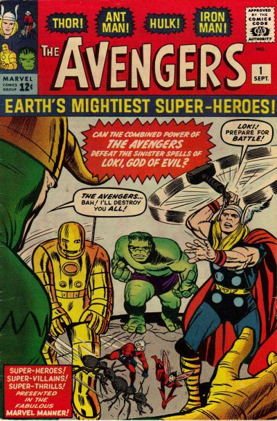 Cover for The Avengers (Marvel, 1963 series) #1 [Regular Edition]