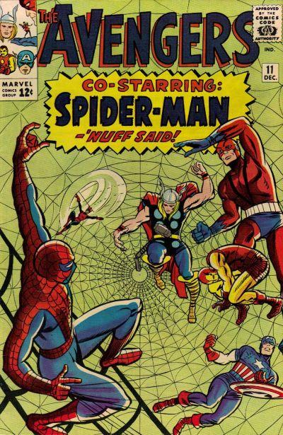 Cover for The Avengers (Marvel, 1963 series) #11