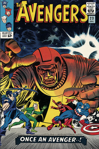 Cover for The Avengers (Marvel, 1963 series) #23 [Regular Edition]