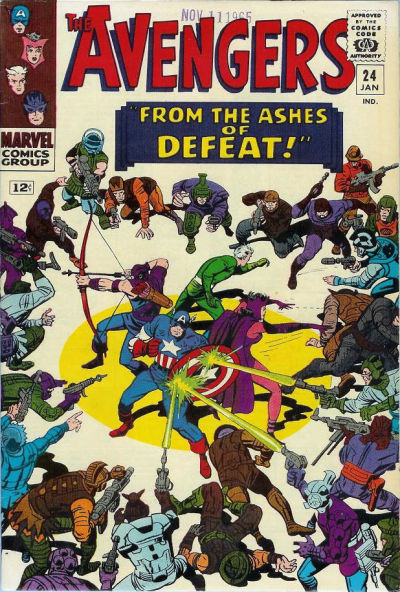 Cover for The Avengers (Marvel, 1963 series) #24 [Regular Edition]