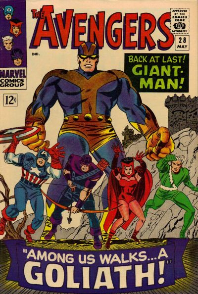 Cover for The Avengers (Marvel, 1963 series) #28 [Regular Edition]