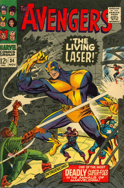 Cover for The Avengers (Marvel, 1963 series) #34