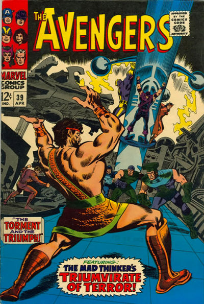 Cover for The Avengers (Marvel, 1963 series) #39 [Regular Edition]