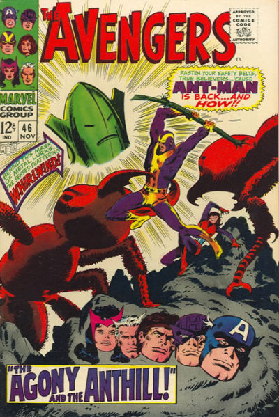 Cover for The Avengers (Marvel, 1963 series) #46
