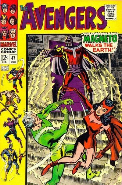 Cover for The Avengers (Marvel, 1963 series) #47