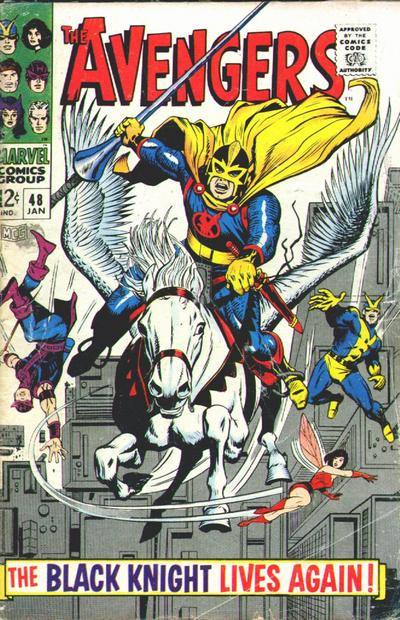 Cover for The Avengers (Marvel, 1963 series) #48