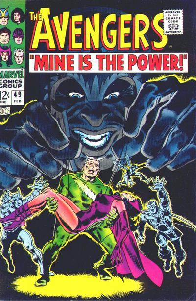 Cover for The Avengers (Marvel, 1963 series) #49
