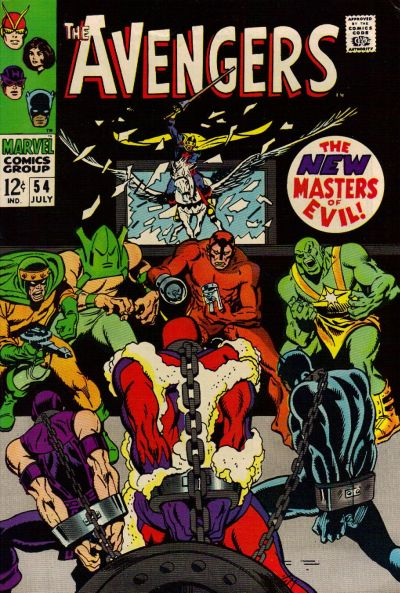 Cover for The Avengers (Marvel, 1963 series) #54