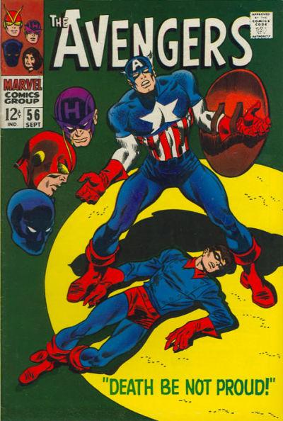 Cover for The Avengers (Marvel, 1963 series) #56