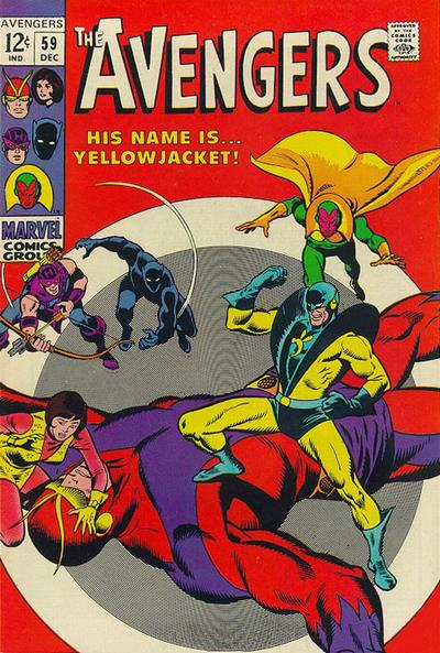Cover for The Avengers (Marvel, 1963 series) #59