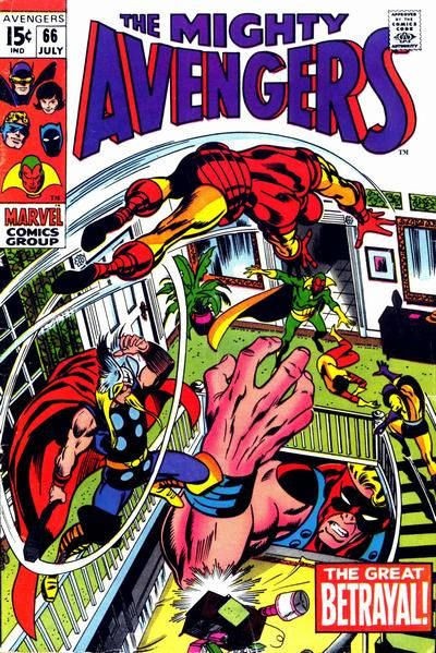 Cover for The Avengers (Marvel, 1963 series) #66 [Regular Edition]