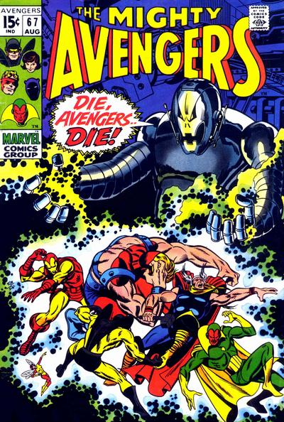 Cover for The Avengers (Marvel, 1963 series) #67 [Regular Edition]