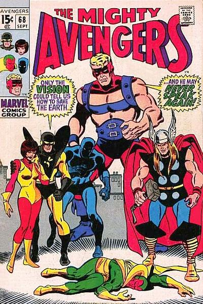 Cover for The Avengers (Marvel, 1963 series) #68 [Regular Edition]