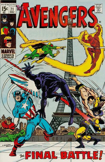Cover for The Avengers (Marvel, 1963 series) #71