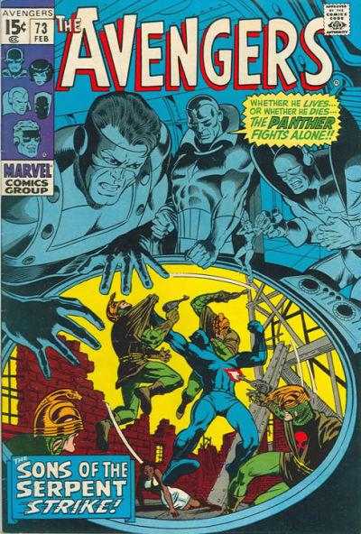 Cover for The Avengers (Marvel, 1963 series) #73 [Regular Edition]
