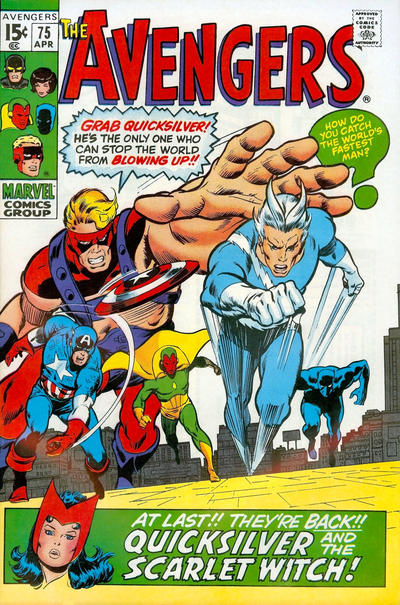 Cover for The Avengers (Marvel, 1963 series) #75
