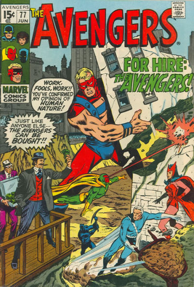 Cover for The Avengers (Marvel, 1963 series) #77 [Regular Edition]