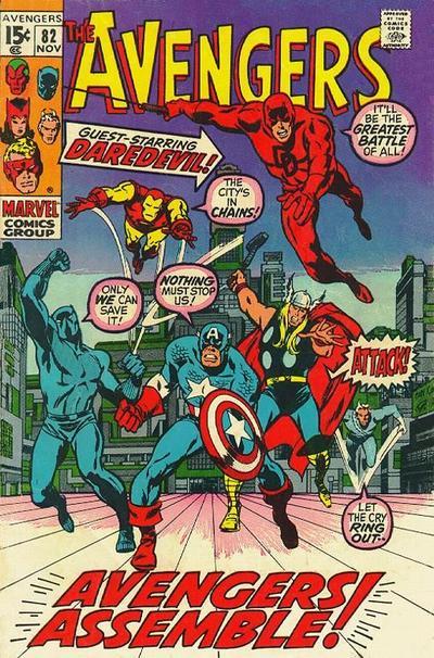Cover for The Avengers (Marvel, 1963 series) #82 [Regular Edition]