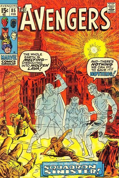 Cover for The Avengers (Marvel, 1963 series) #85