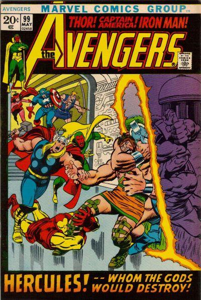 Cover for The Avengers (Marvel, 1963 series) #99 [Regular Edition]