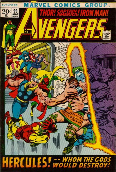 Cover for The Avengers (Marvel, 1963 series) #99 [Regular Edition]