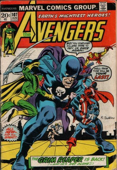 Cover for The Avengers (Marvel, 1963 series) #107 [Regular Edition]