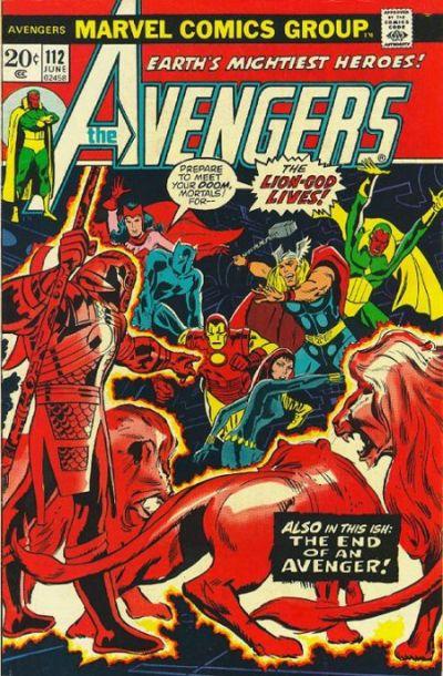 Cover for The Avengers (Marvel, 1963 series) #112 [Regular Edition]