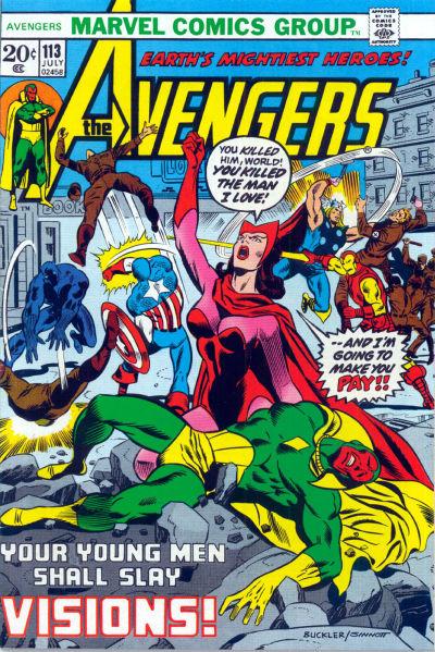 Cover for The Avengers (Marvel, 1963 series) #113 [Regular Edition]