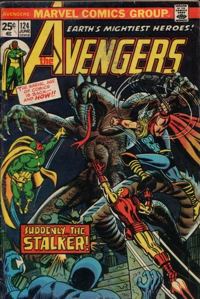 Cover for The Avengers (Marvel, 1963 series) #124