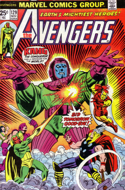 Cover for The Avengers (Marvel, 1963 series) #129