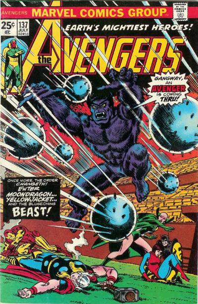 Cover for The Avengers (Marvel, 1963 series) #137