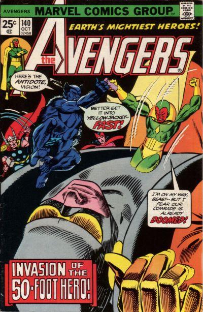 Cover for The Avengers (Marvel, 1963 series) #140