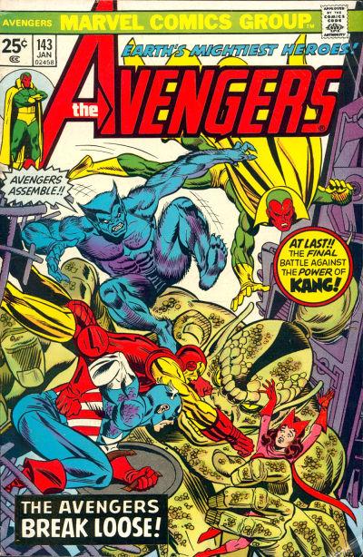 Cover for The Avengers (Marvel, 1963 series) #143