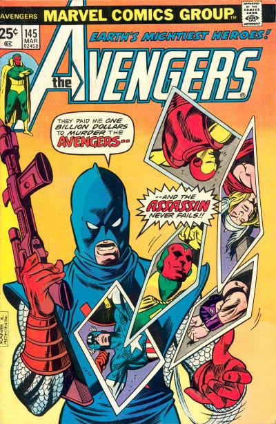 Cover for The Avengers (Marvel, 1963 series) #145