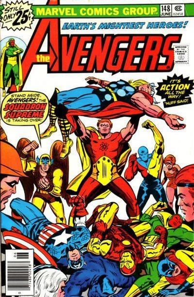 Cover for The Avengers (Marvel, 1963 series) #148 [25¢ Cover Price]
