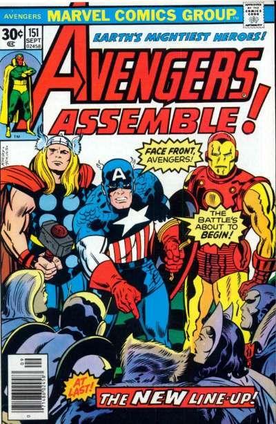 Cover for The Avengers (Marvel, 1963 series) #151