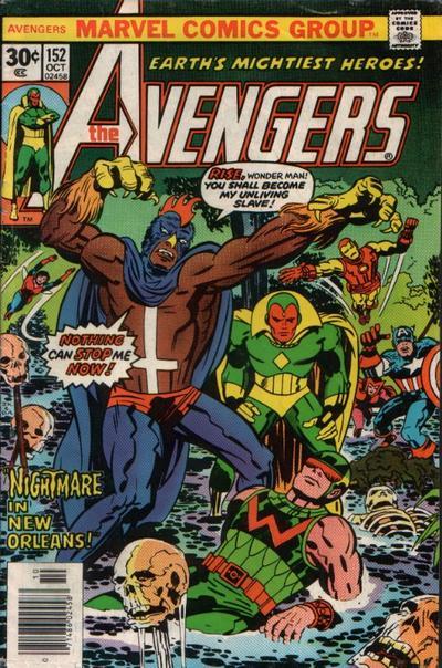 Cover for The Avengers (Marvel, 1963 series) #152