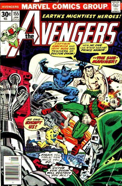 Cover for The Avengers (Marvel, 1963 series) #155 [Regular Edition]