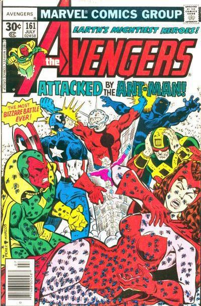 Cover for The Avengers (Marvel, 1963 series) #161 [35¢ Price Variant]