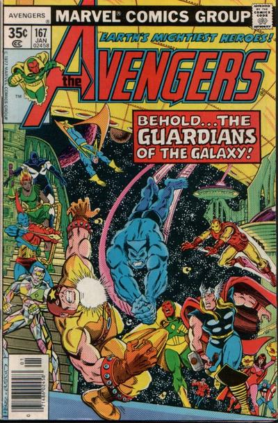 Cover for The Avengers (Marvel, 1963 series) #167 [Regular Edition]